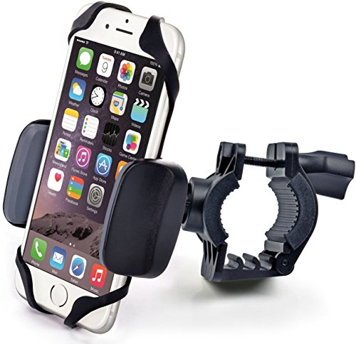 s Plus), Samsung Galaxy Note or any Smartphone & GPS - Universal Mountain & Road Bicycle Handlebar Cradle Holder. +100