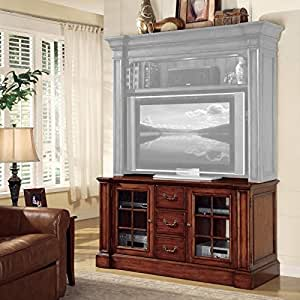 Hooker furniture waverly place entertainment console in cherry finish home Home theater furniture amazon