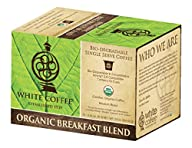 White Coffee Organic Single Serve Cof…