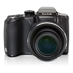 Kodak EasyShare Z981 14MP Digital Camera with Schneider-Kreuznach Variogon 26x Wide Angle Optical Image Stabilized Zoom Lens and 3.0 Inch LCD