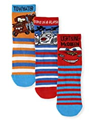 3 Pairs of Disney Cars Socks