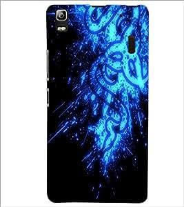 PrintDhaba Digital design D-2145 Back Case Cover for LENOVO A7000 PLUS (Multi-Coloured)