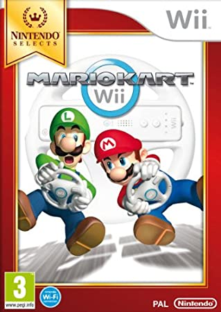 Nintendo Selects : Mario Kart - Game only (Nintendo Wii)