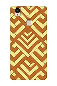 ZAPCASE PRINTED BACK COVER FOR VIVO V3 Multicolor