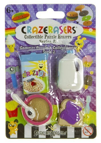 CrazErasers Collectible Erasers ~ Breakfast (Series 2) - 1