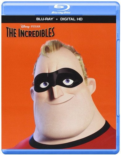 Blu-ray : The Incredibles (Dolby, Digitally Mastered in HD, Repackaged, Digital Theater System, AC-3)