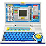Treemz-Blue English Learner/Education Laptop For Kids 20 Activities