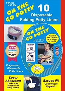 Kalencom Potette Disposable Liners - On The Go Potty Liner Re-Fills