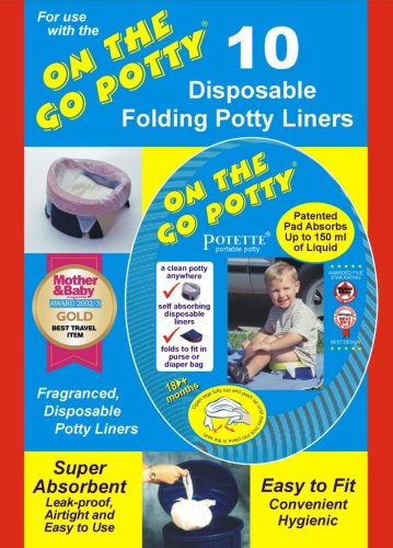 Kalencom Potette Disposable Liners - On The Go Potty Liner Re-Fills (Discontinued by Manufacturer)