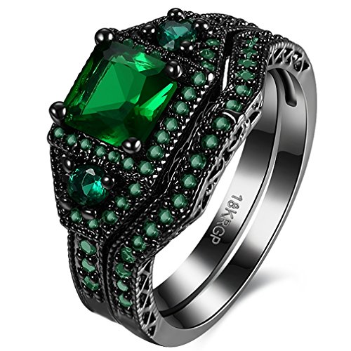 women-best-friend-rings-18k-black-gold-plated-princess-cut-created-emerald-diamond-engagement-weddin