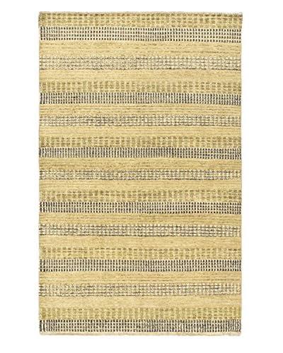 Hand-Knotted Finest Ziegler Chobi Wool Rug, Khaki, 4' 1 x 6' 3