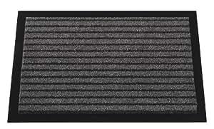 Mercury Flooring - Tapis Grattant 40X60 - Couleur : Gris