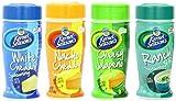 Kernal Seasons Popcorn Seasoning 4 Flavor Variety Pack: 1 White Cheddar (2.85oz), 1 Nacho Cheddar (2.85oz), 1 Cheesy Jalapeno (2.4oz), and 1 Ranch (2.7oz)