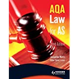 AQA Law for AS (A Level Law)by Jacqueline Martin