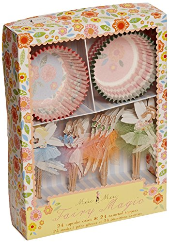 Meri Meri Cupcake Kits, Fairy Magic (Grown Up Party Themes)