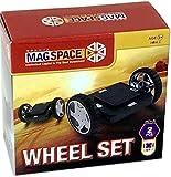 「日本版正規品」MAGSPACE・マグスペース ホイールセット 創造力を育てる知育玩具