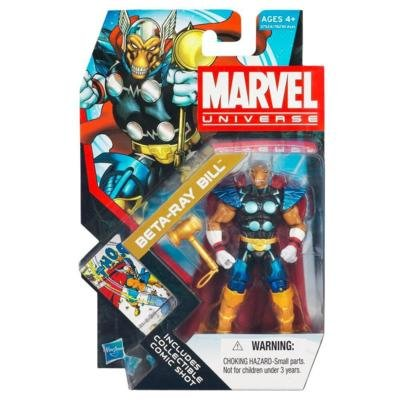 Marvel Universe 3 3/4 Inch Series 18 Action Figure #11 Beta Ray Bill - 1