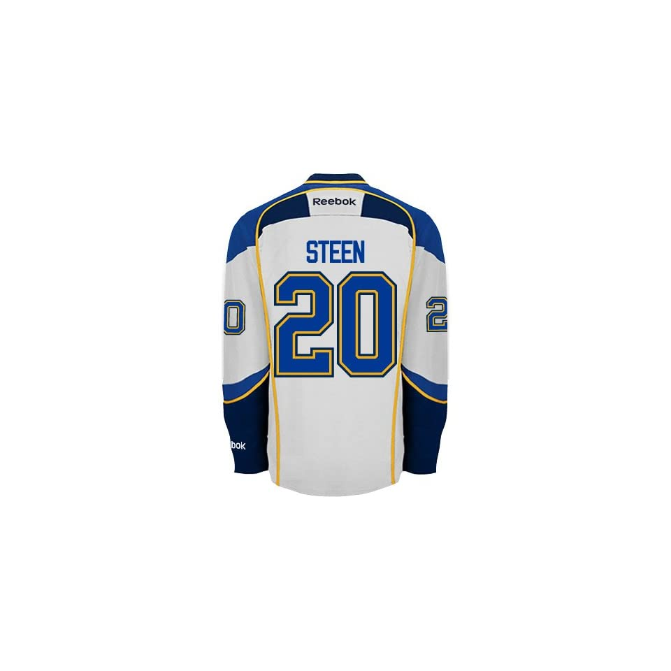 dc976f77b Alexander Steen St. Louis Blues Reebok Premier Away Jersey NHL Replica