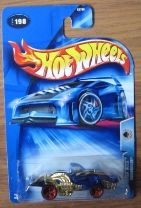 Hot Wheels 2004 Track Aces Sharkruisers BLUE 198 - 1