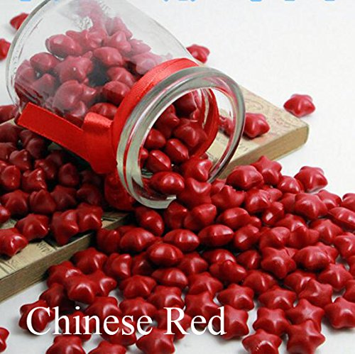 FQL 1 Bottle Of Star Shape Sealing Wax Sticks Beads For Wax Seal Stamp (Chinese Red) (Chinese Wax Seal compare prices)