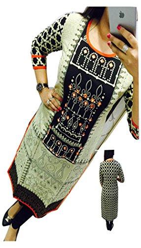 madhuram-fabric-Womens-Cotton-PrintedHavy-Work-Kurti-kp-2011