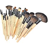 Kisstyle 24 Pcs Cosmetic Brush Set Kit Professional Makeup Brush Set Kit