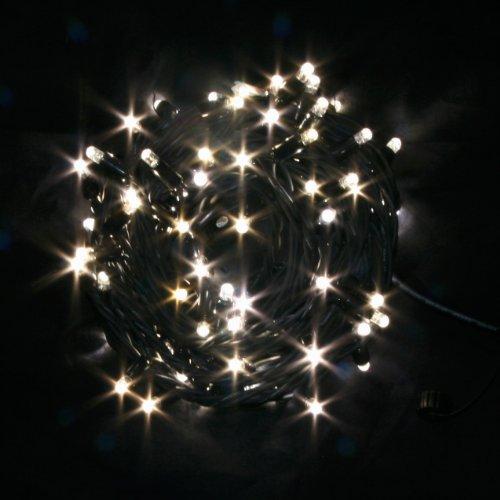 300er LED Lichterkette (3×100), warm-weiß, Außen, anschließbar, Typ C
