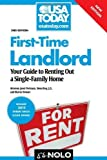 img - for First-Time Landlord: Your Guide to Renting Out a Single-Family Home by Portman Attorney, Janet, Bray J.D., Ilona, Stewart, Marcia (2011) Paperback book / textbook / text book