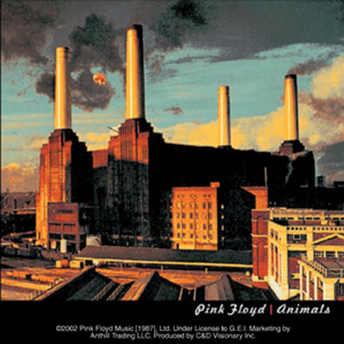Licenses Products Pink Floyd Animals Sticker - 1