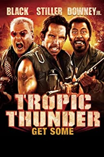 Tropic Thunder ( Unrated Director Cut BLURAY ) Ben Stiller, Jack Black and Robert Downey Jr.