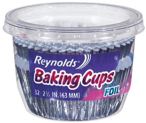 Reynolds Baking Cups-Foil, 32 Count (Pack of 24)