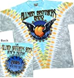 The Allman Bros Band Tie Dye T-shirt 'Flying Peach' / Beacon Theater NYC 2-si...