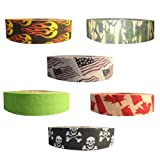 Renfrew Scapa Tapes Renfrew Bright or Patterned Cloth Hockey Tape - 1 Inch - Canada - 1 Inch