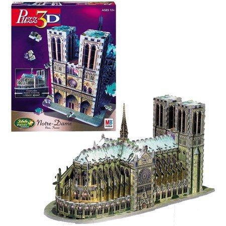 Cheap Hasbro Puzz 3D Notre Dame (B0007Q1IR6)