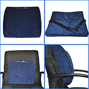 Lower Back Pain Cushion Office Chair Car Seat Back Suppor