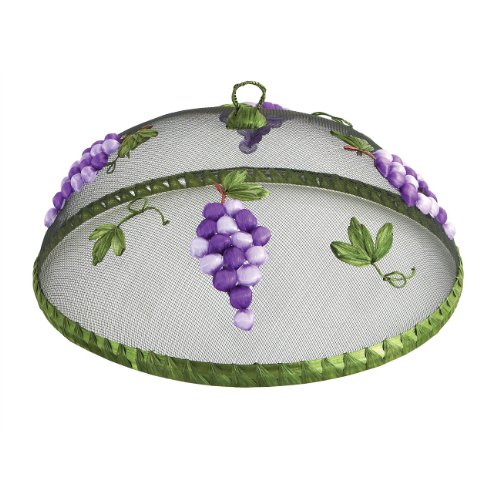 Woodard & Charles Round Grapes Food Domes, 14-Inch