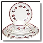 Bordeaux 5-Piece Dinnerware Place Setting, Service for 1