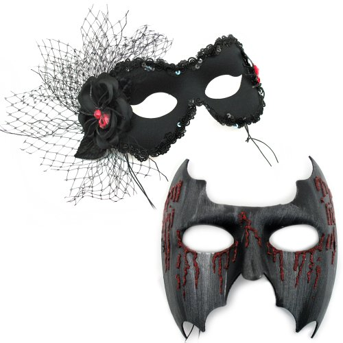 Caught-Backstreet Masquerade Masks for a Couple