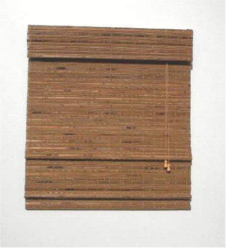 Lewis Hyman 0215223 Pecan Havana Bamboo Roman Shade. 23