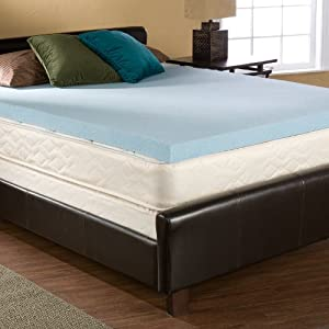Queen Size 2 inch GEL Memory Foam Mattress Topper Pad