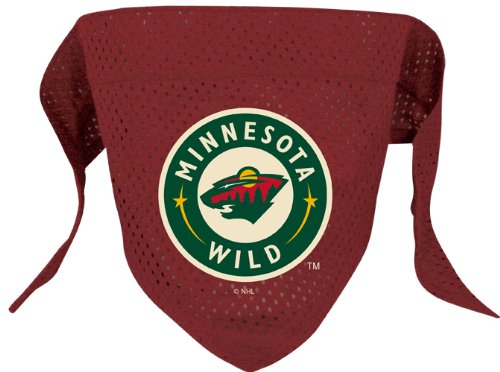 Review for NHL Minnesota Wild Pet Bandana, Team Color, Large