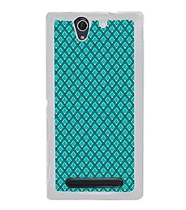 Colourful Pattern 2D Hard Polycarbonate Designer Back Case Cover for Sony Xperia C4 Dual :: Sony Xperia C4 Dual E5333 E5343 E5363