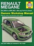 Renault Megane Petrol and Diesel Service and Repair Manual: 2002 to 2005 (Haynes Service and Repair Manuals)