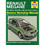 Renault Megane Petrol and Diesel Service and Repair Manual: 2002 to 2005 (Haynes Service and Repair Manuals)by R. M. Jex