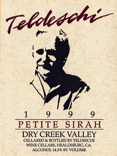 1999 Teldeschi Petite Sirah, Dry Creek Valley 750 Ml