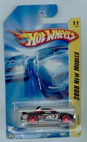 Hot Wheels 2008-011/196 Acura NSX NEW Models 11 of 40 1:64 Scale