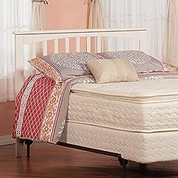 Atlantic Furniture R-1878 Urban Lifestyle Mission Headboard White, Full