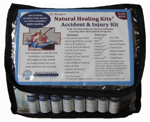 Natural First Aid Kit for Accidents & Injuries
