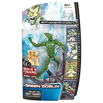 Marvel Legends Spider-Man Movie Action Figure Green Goblin by Hasbro (English Manual)