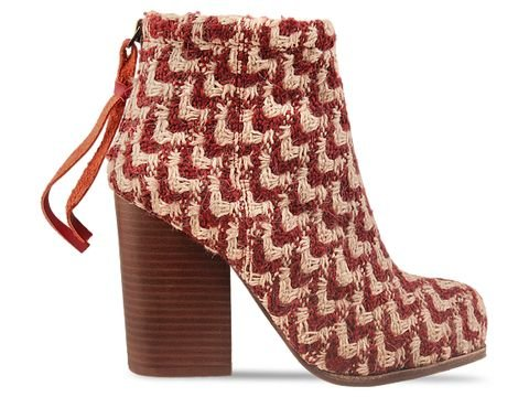 Jeffrey Campbell Rumble Fab in Beige Wine Size 10